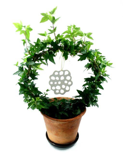 hänge porslin blomma dekoration