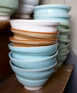 skål keramik stengods hantverk drejad