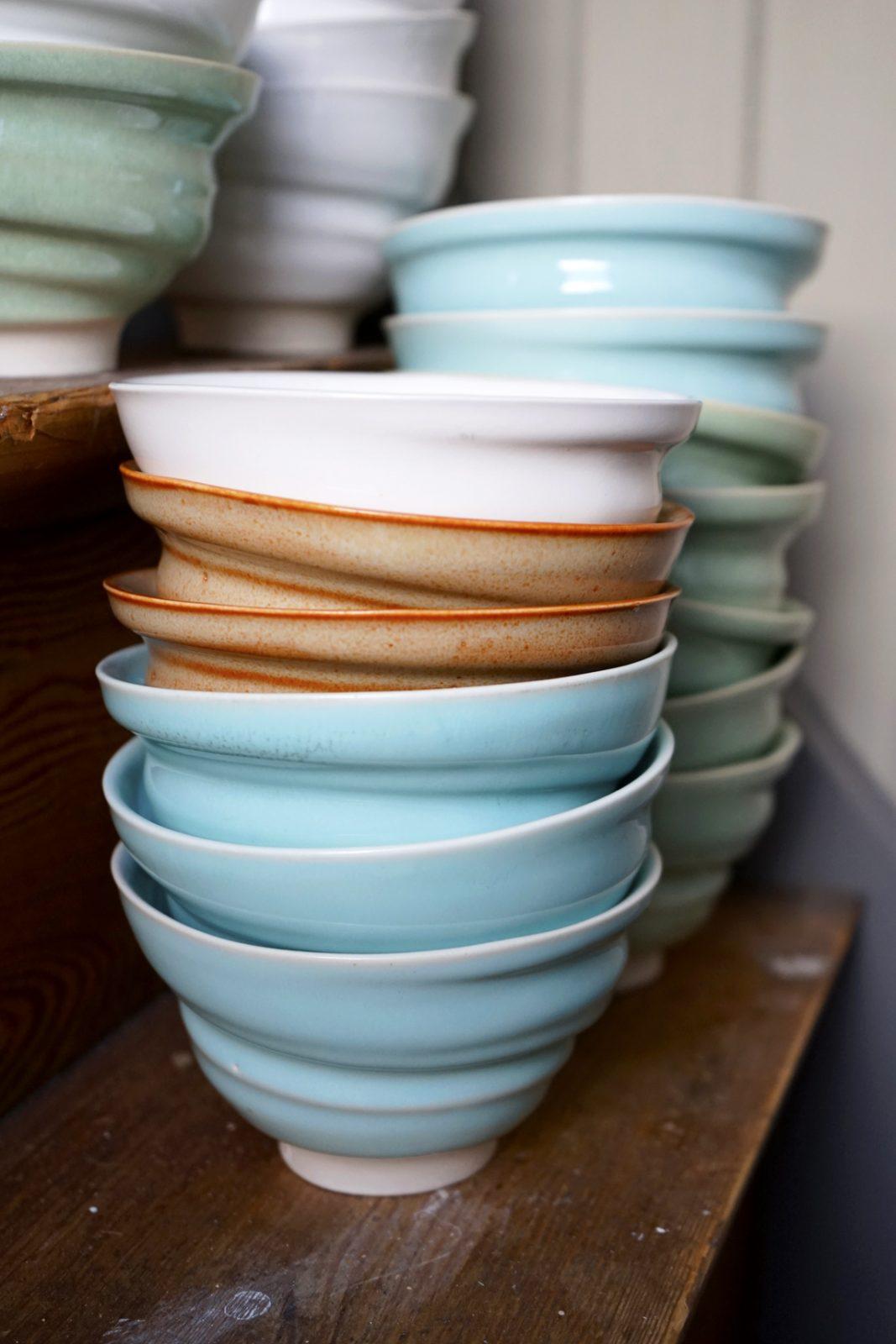 keramik porslin stengods skål drejad