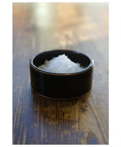 liten skål stapelbar svart glasyr stengods keramik
