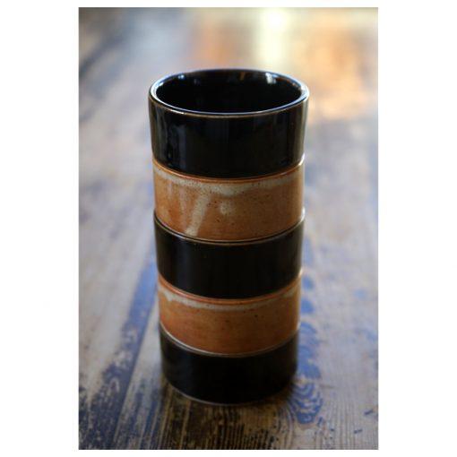 skål stapelbar stengods turkos glasyr keramik