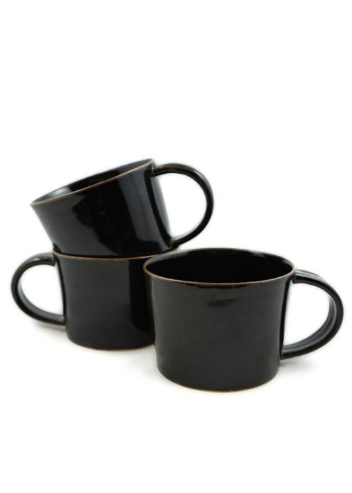 En mugg för te, kaffe eller varm choklad