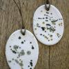 Dekorationshänge tillverkat i porslin